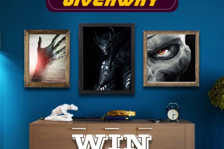 Enter To Win Perfect Wall Decor Shadowbox Picture Frame Infographic