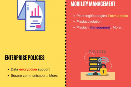 Enterprise Mobility Management and its challenges - Phdassistance.com Infographic