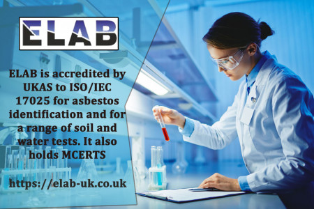 Environmental Testing Laboratory - Water & Soil Testing - ELAB UK Infographic