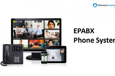 EPABX PHONE SYSTEM - Telecoms Supermarket India - www.telecomssupermarket.in Infographic