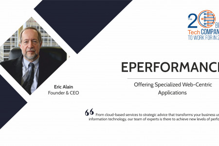Eperformance: Offering Specialized Web-Centric Applications Infographic
