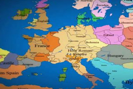Epic Timelapse Map Of Europe Infographic