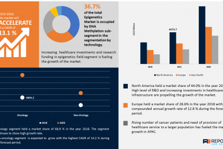 Epigenetics Market – What Factors will drive the Industry in Upcoming Years? Infographic