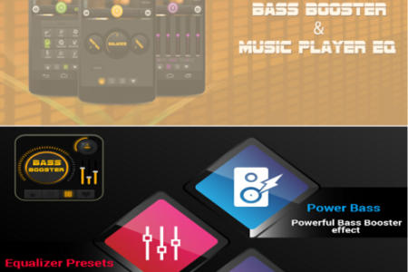 Equalizer & Bass booster App Infographic