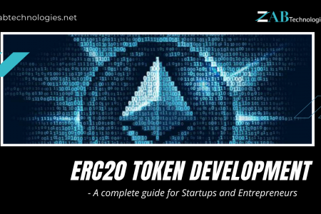 ERC20 Token Development Infographic