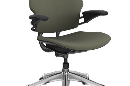 Ergonomic Executive & Office Chair | Freedom Task Chair | Humanscale Infographic