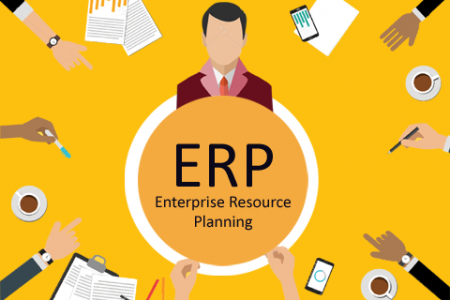 ERP Accounting Software Infographic