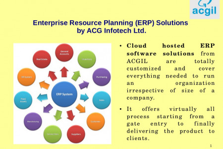 ERP Software  Infographic
