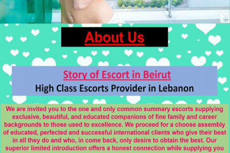Escorts in Beirut | Escorts in Lebanon Infographic