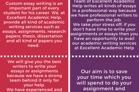 Essay Writing Service Infographic