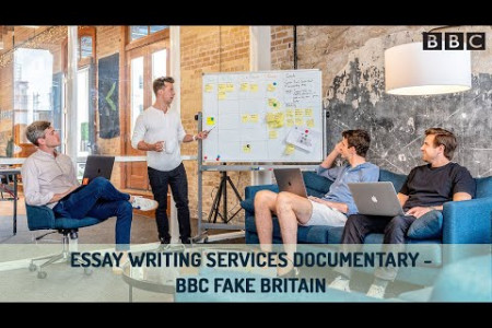 Essay Writing Services Documentary - BBC Fake Britain Infographic