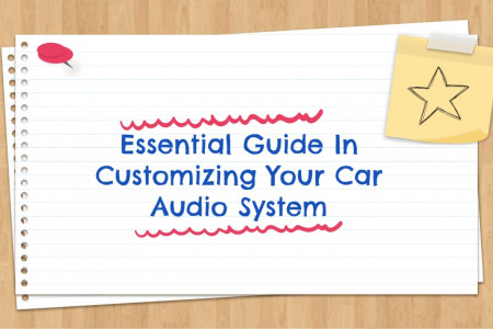Essential Guide In Customizing Your Car Audio System Infographic