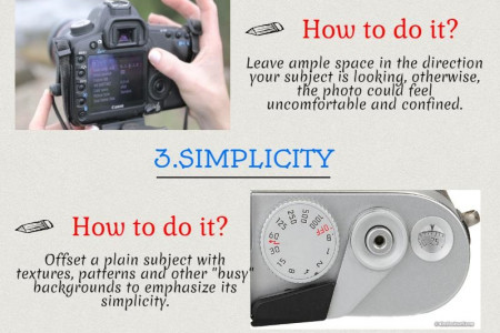 Essential Guidelines for Photography.. Infographic