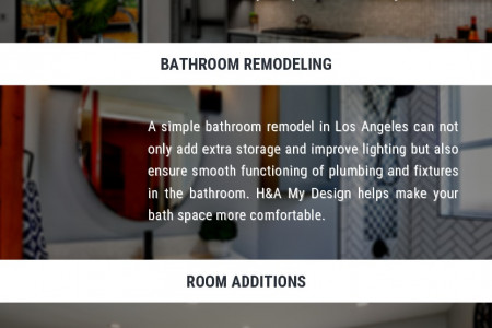 Essential Home Remodel Services in Los Angeles Infographic