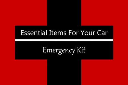 Essential Items for Your Car Emergency Kit Infographic