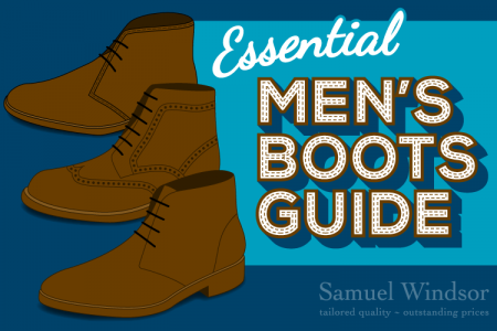 Essential Men's Boots Guide Infographic