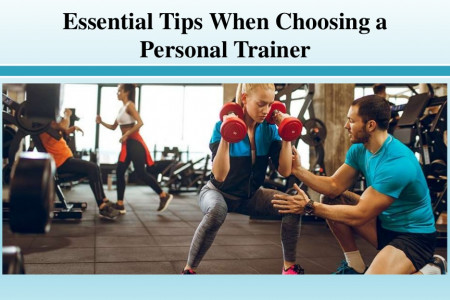 Essential Tips When Choosing a Personal Trainer Infographic