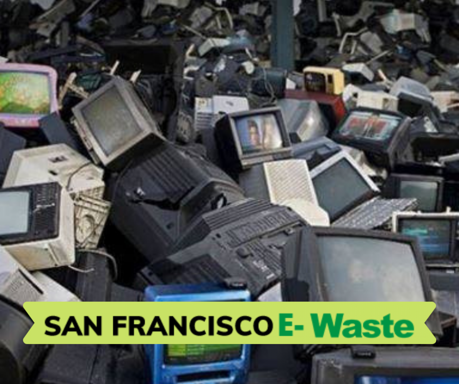 Estimated 5 million television sets are dumped each year Infographic