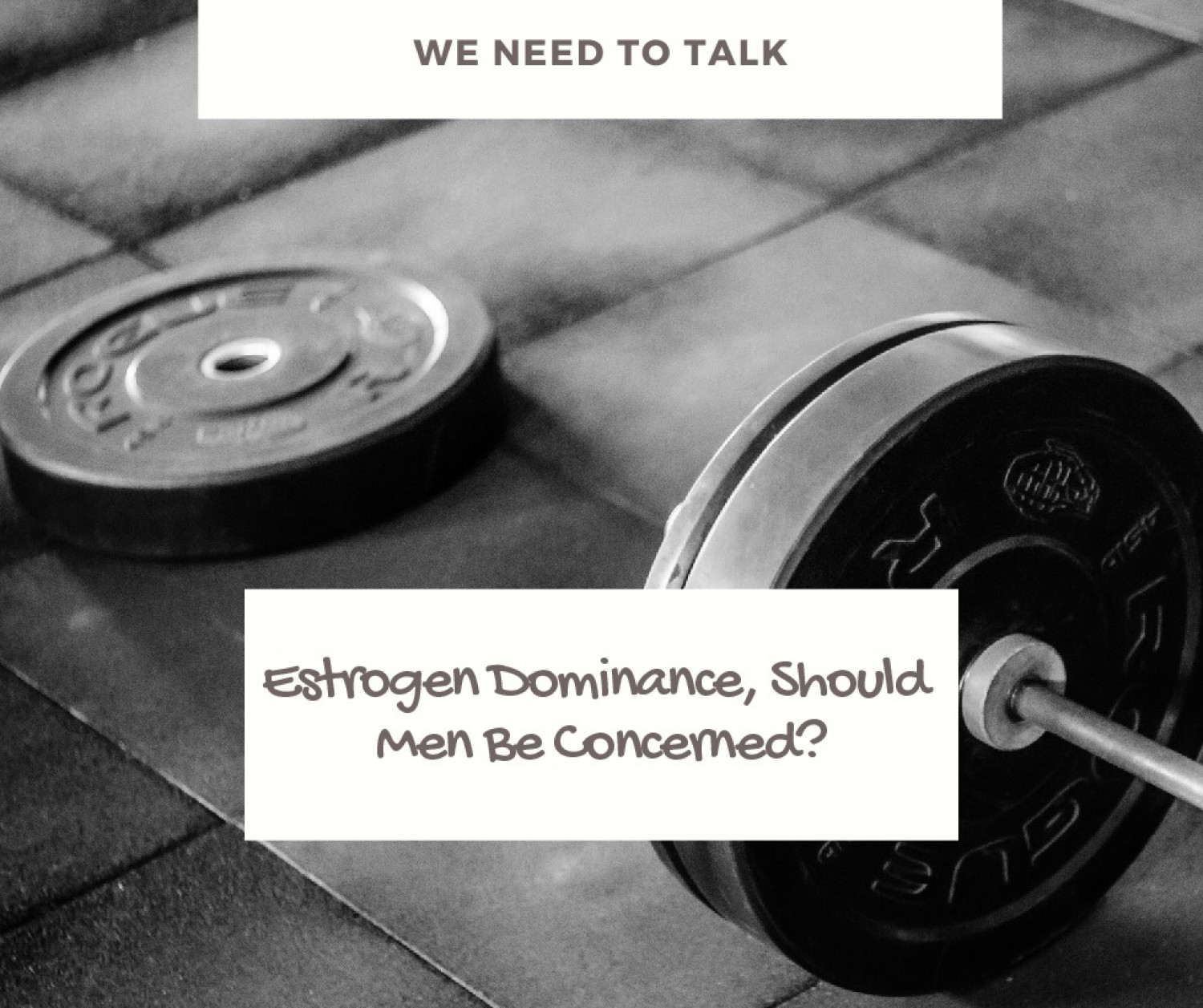 Estrogen Dominance Treatment & Symptoms Cover Infographic