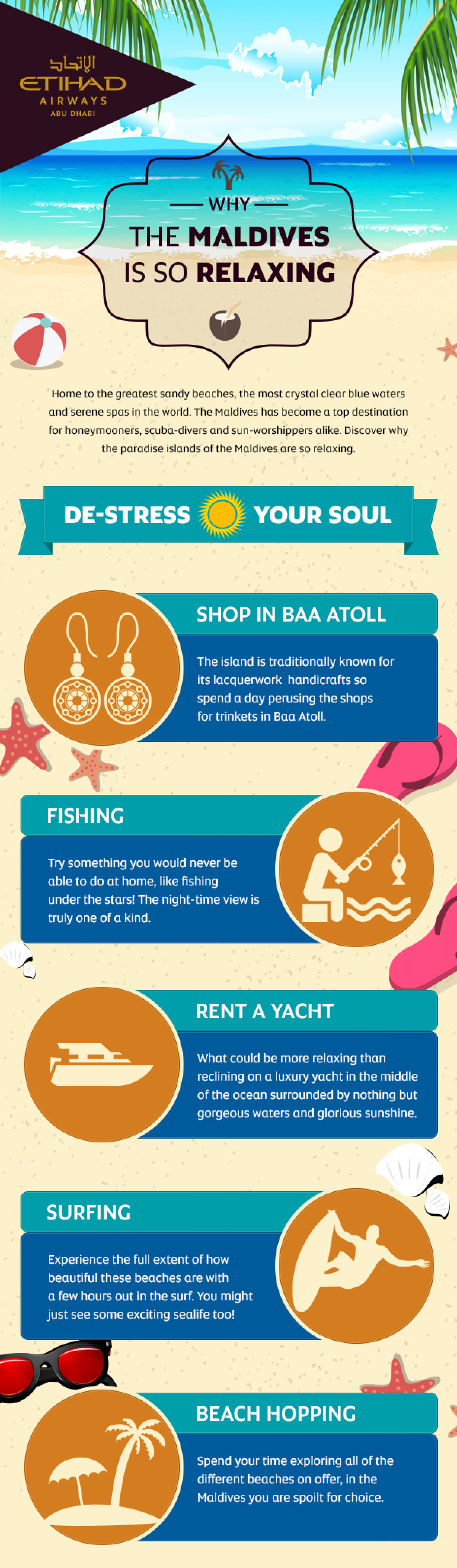 Etihad's guide to travelling to Maldives Infographic