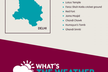 Etihad's guide to travelling to New Delhi Infographic