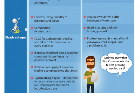 Etsy to WooCommerce Migration Infographic