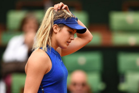 Eugenie Bouchard   Crazy Facts about the Canadian Tennie Star Infographic