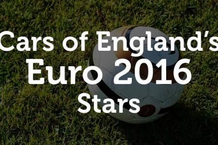 Euro 2016: 5 England Stars That Scored a Great Car Infographic
