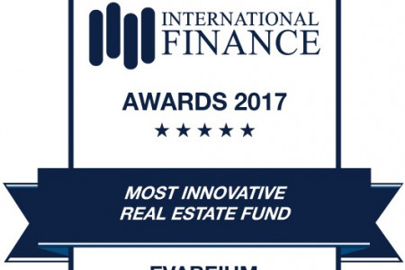 Evareium wins Most Innovative Real Estate Fund 2017 Infographic