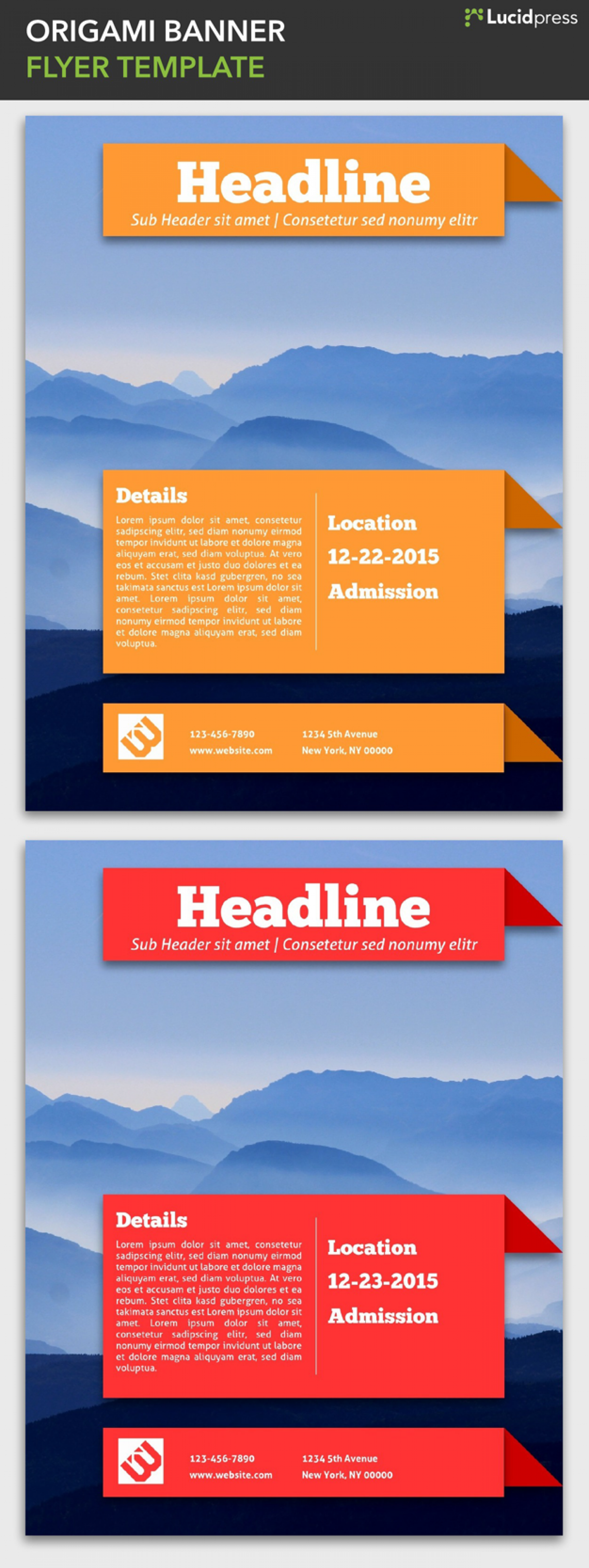 Event Flyer Templates | Lucidpress Infographic