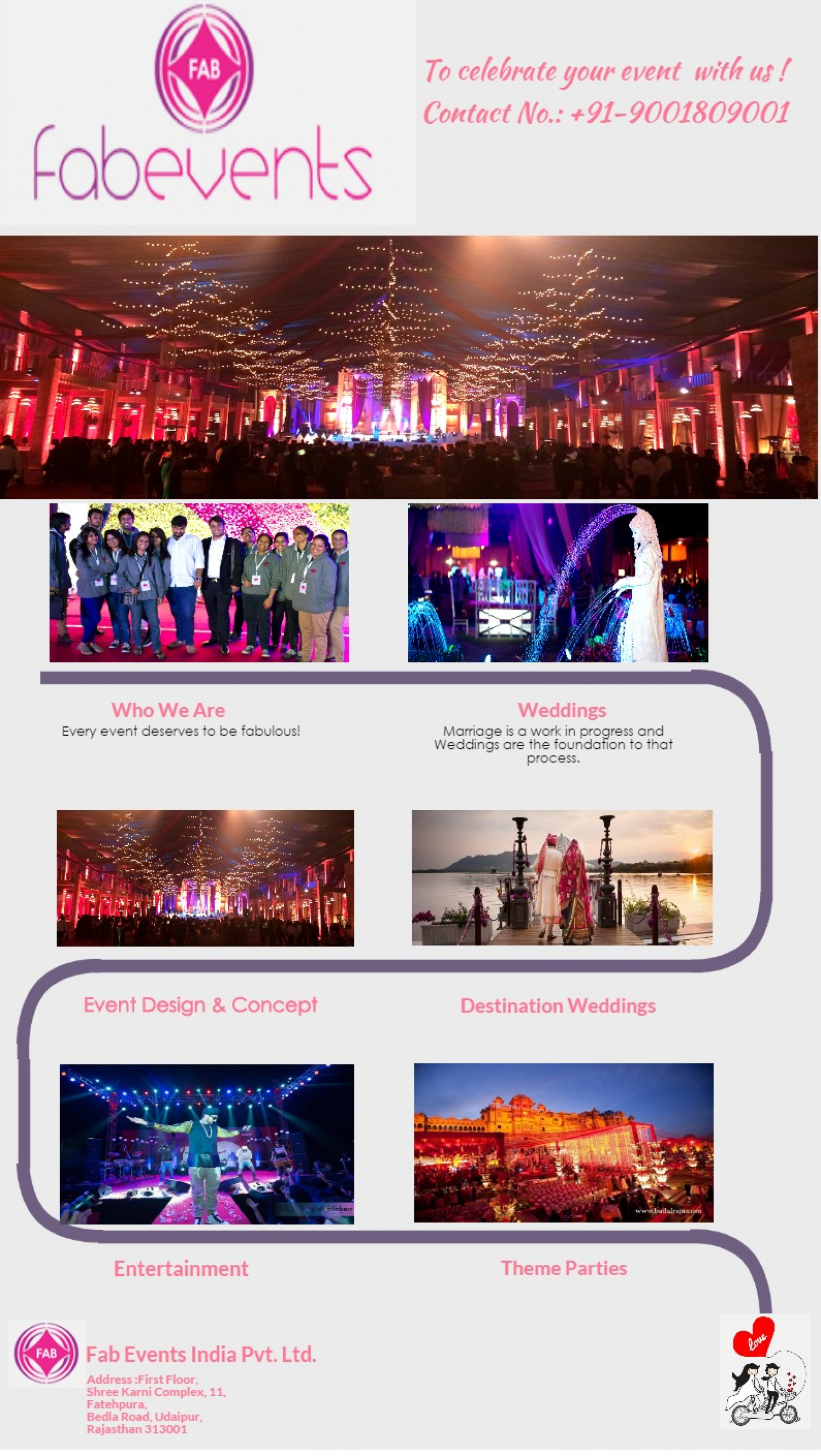 Event Management Company Udaipur Infographic