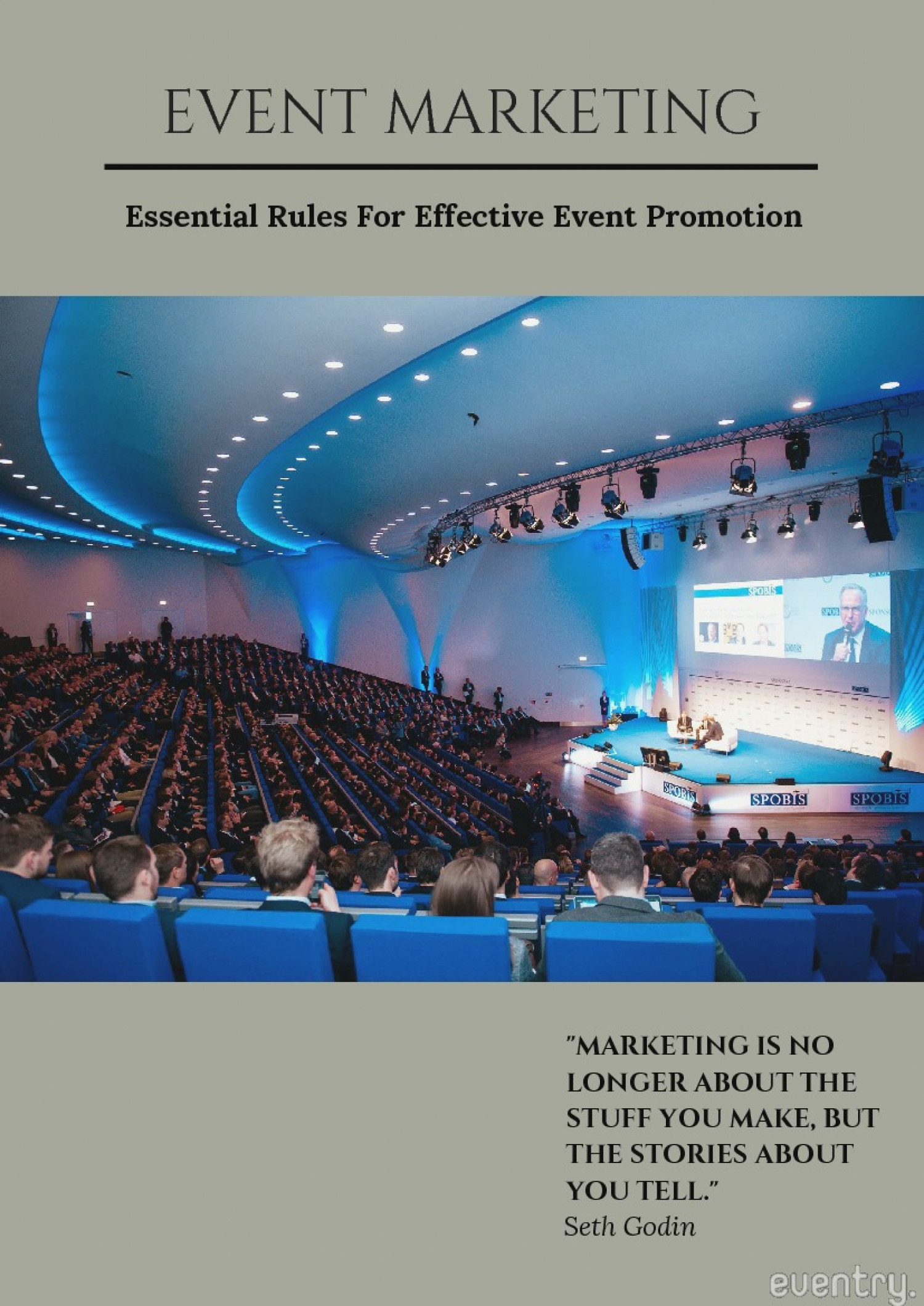 Event Marketing: Essential Rules For Effective Event Promotion Infographic