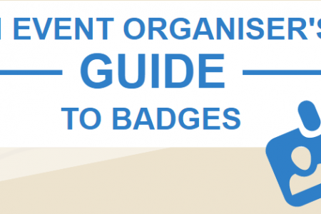 Event organisers guide: to badges  Infographic