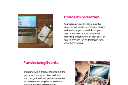Event Production in Los Angeles Infographic