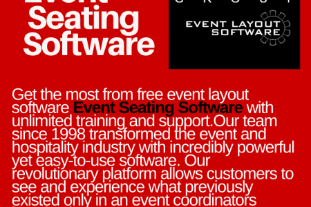 Event Seating Software Infographic