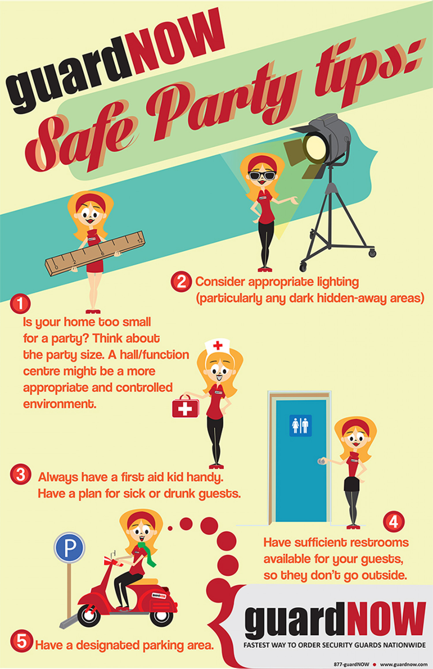 Event security Infographic