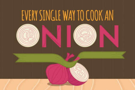 Every Single Way To Cook An Onion Infographic