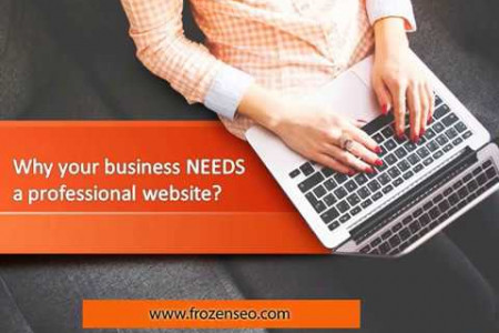Everything You Need for a Professional Business Website | Responsive Website Development  Infographic