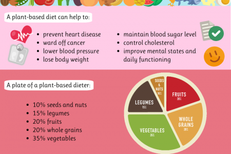 Everything you need to know about a plant-based diet Infographic
