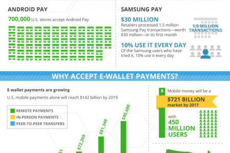 E-Wallet Payment Processing Infographic