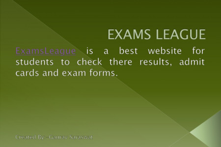 exams league Infographic