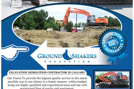 Excavation and Demolition in Calgary Infographic
