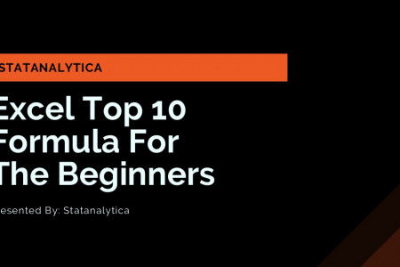 Excel Top 10 formula For The Beginners Infographic