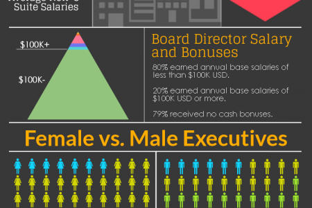 Executive Salary Crunch: How Does Your Salary Compare? Infographic