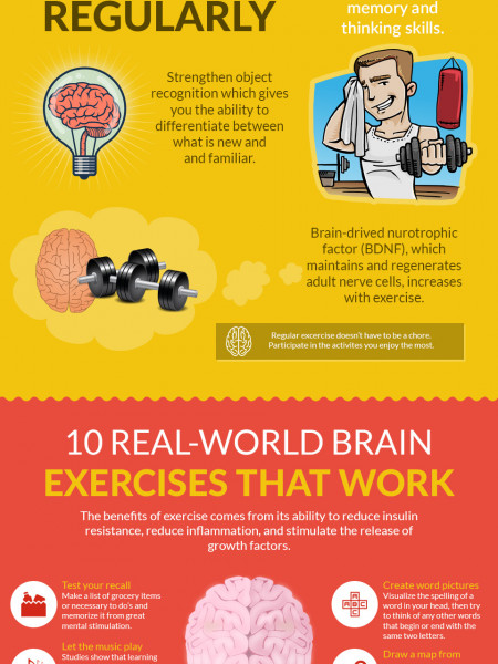 Exercise And Memory That can Make You Smarter Infographic