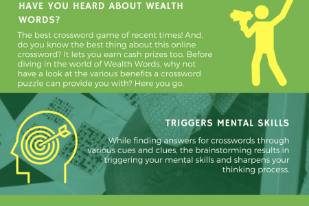 EXERCISE YOUR BRAIN AND MAKE MONEY WITH CROSSWORD Infographic