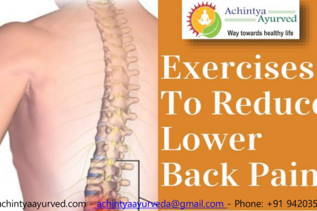Exercises For Lower Back Pain | Exercises For Lower Back Pain Relief Infographic