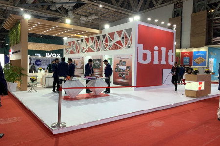 Exhibition Booth For BILT in Paperex 2019 Infographic