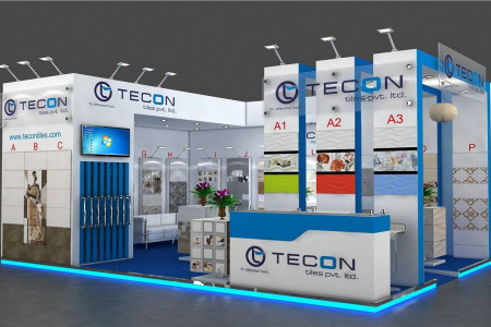 Exhibition stand companies Dubai Infographic