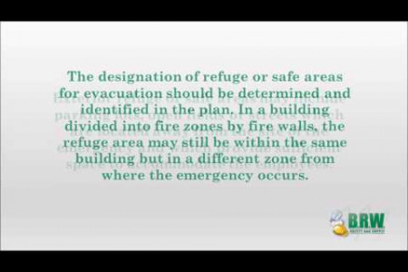 Exit Routes, Emergency Action Plans and Fire Prevention Plans Infographic